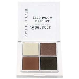Benecos Quattro Eyeshadow Coffee & Cream