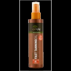 Fast Tanning Oil spf 6 - Olivie