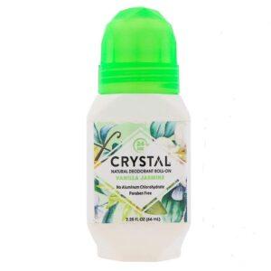 Crystal essence deodorant roll-on vanilla jasmine