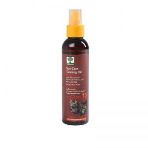 Sun Care Tanning Oil spf 15 - Bioselect