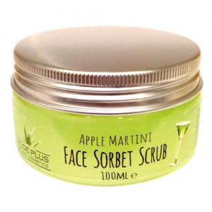 Face Sorbet Scrub Apple Martini - Aloe+Colors