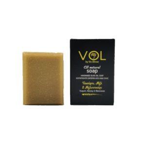 Natural Handmade Soap with Yogurt, Honey, Beeswax - Vis Olivae