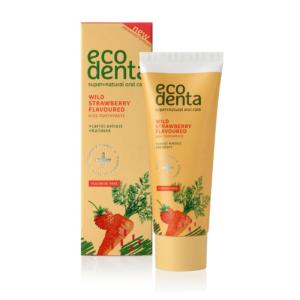 Παιδική Οδοντόκρεμα Φράουλα - Ecodenta