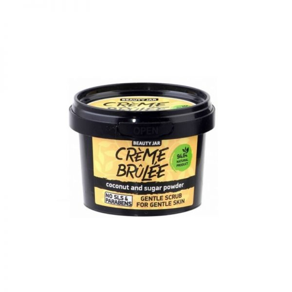 Face Scrub Creme Brulee - Beauty Jar