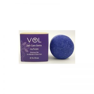 Shampoo Bar My Purple for blonde/silver hair - Vis Olivae