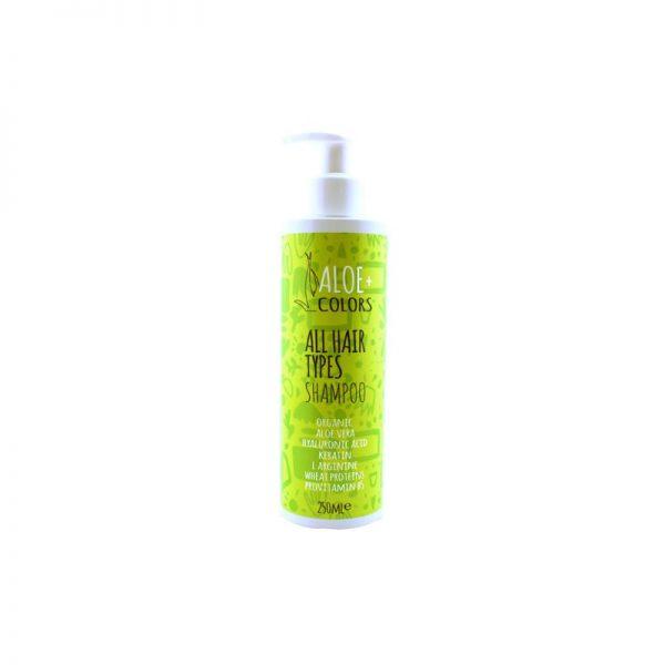 All Hair Types Shampoo - Aloe+Colors