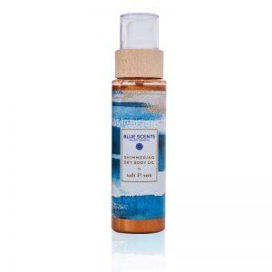 Shimmering Dry Body Oil Salt & Sun - Blue Scents