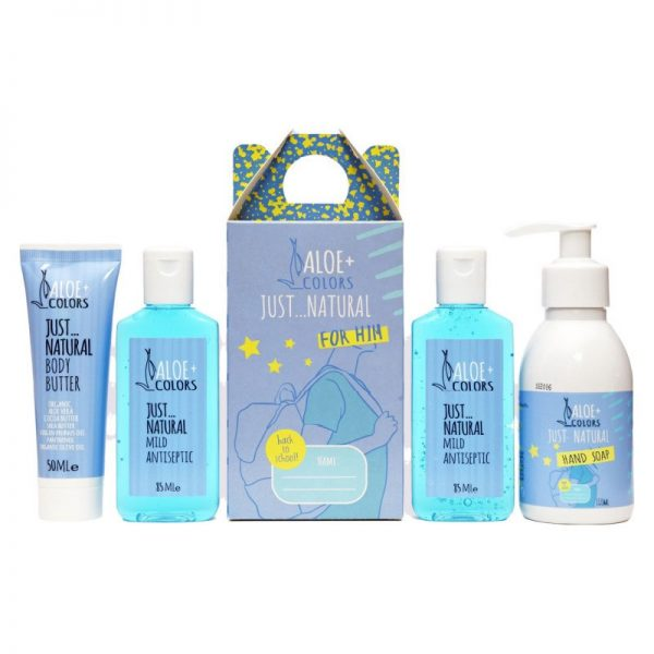 Just Natural Back to School for him - Aloe+Colors